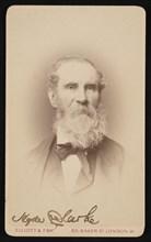 Portrait of Hyde Clarke (1815-1895), Before 1876. Creator: Elliott & Fry.