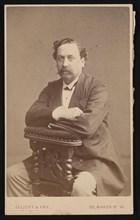 Portrait of David Forbes (1828-1876), 1874. Creator: Elliott & Fry.
