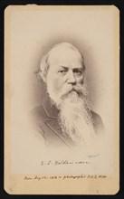 Portrait of Samuel Stehman Haldeman (1812-1880), February 5, 1874. Creator: FA Wenderoth & Co.