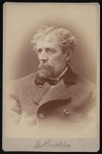 Portrait of Dr. Buckley, 1878. Creator: Samuel Montague Fassett.
