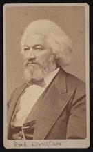 Portrait of Frederick Douglass (1817?-1895), 1878. Creator: Samuel Montague Fassett.
