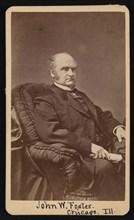 Portrait of John Wells Foster (1815-1873), Between 1872 and 1873. Creator: Samuel Montague Fassett.
