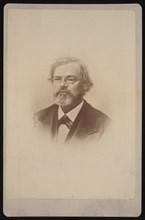 Portrait of Townend Glover (1813-1883), 1878. Creator: Samuel Montague Fassett.