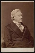 Portrait of Joseph Henry (1797-1878), December 1875. Creator: Samuel Montague Fassett.