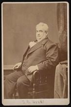 Portrait of Dr. T.B. Hood, Between 1876 and 1880. Creator: Samuel Montague Fassett.