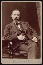 Portrait of John Gough Judd (1824-1895), Between 1876 and 1880. Creator: Samuel Montague Fassett.