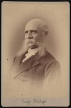 Portrait of Seth Ledyard Phelps (1824-1885), 1878. Creator: Samuel Montague Fassett.