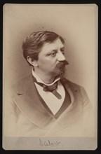 Portrait of Edward Selmar Siebert (1856-1944), 1879. Creator: Samuel Montague Fassett.