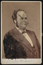 Portrait of William Windom (1827-1891), Between 1876 and 1880. Creator: Samuel Montague Fassett.