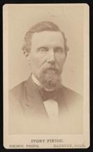 Portrait of B.B. Kellogg, Before 1876. Creator: Folsom Photo.