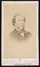 Portrait of Unidentified Man, Before 1877. Creator: Franck de Villecholle.
