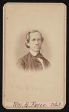 Portrait of William Quereau Force (1820-1880), June 1863. Creator: Alexander Gardner.