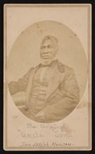 Portrait of Reverend Josiah Henson (1789-1883), Between 1866 and 1869. Creator: Alexander Gardner.