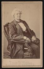 Portrait of Thomas Ustick Walter (1804-1887), Between 1866 and 1869. Creator: Alexander Gardner.