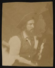 Portrait of Caleb Burwell Rowan Kennerly (1829-1861), Before 1861. Creator: George Gibbs.