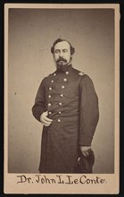 Portrait of Dr. John Lawrence LeConte (1825-1883), Between 1862 and 1864. Creator: Gihon & Rixon.