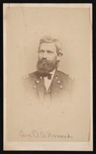 Portrait of General Oliver Otis Howard (1830-1909), 1860s. Creator: John Goldin.