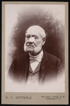 Portrait of Leon Le Lanne Channell (1818-1901), 1896. Creator: BF Gottwals.