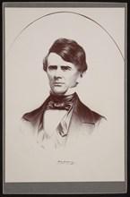 Portrait of John Walker Maury (1809-1855), 1855. Creator: Leopold Grozelier.