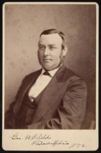 Portrait of George William Childs (1829-1894), 1872. Creator: Frederick Gutekunst.