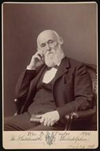 Portrait of William Bower Taylor (1821-1895), 1894. Creator: Frederick Gutekunst.