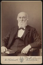 Portrait of William Bower Taylor (1821-1895), April 1893. Creator: Frederick Gutekunst.