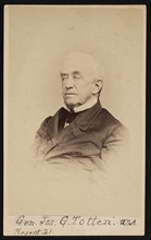 Portrait of Gen. Joseph Gilbert Totten (1788-1864), Before 1864. Creator: Frederick Gutekunst.
