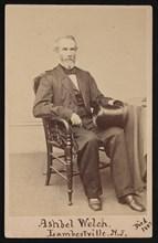 Portrait of Ashbel Welch (1809-1882), Before 1882. Creator: Frederick Gutekunst.