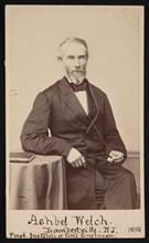 Portrait of Ashbel Welch (1809-1882), May 1874. Creator: Frederick Gutekunst.