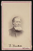 Portrait of Paulus Roetter (1806-1894), Before 1894. Creator: Hall's Capitol Gallery.