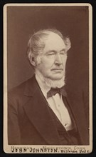 Portrait of John Johnston (1806-1879), Before 1876. Creator: Hennigar Bros.