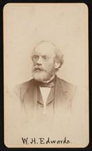 Portrait of William Henry Edwards (1822-1909), Circa 1870s/1880s. Creator: J & W Vincent.