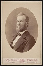 Portrait of J.H. White, Between 1874 and 1881. Creator: J & W Vincent.