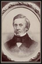 Portrait of Joseph Henry (1797-1878), 1857. Creator: AW Janvier.