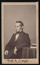 Portrait of Arnold Henry Guyot (1807-1884), Before 1866. Creator: Johnston Bros.