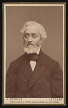Portrait of Felix Flugel (1820-1904), 1888. Creator: Alfred Naumann.