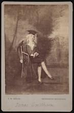 Portrait of James Smithson (1765-1829), 1786 (photographed 1870s). Creator: Thomas William Smillie.