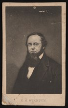 Portrait of Edwin McMasters Stanton (1814-1869), Before 1869. Creator: Unknown.