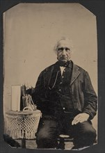 Portrait of Unidentified Man, Before 1900. Creator: Unknown.