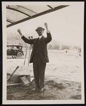 Portrait of Albert Francis Zahm (1862-1954), 1914. Creator: Charles Doolittle Walcott.