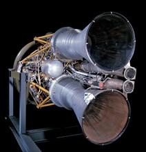 Rocket Engine, Liquid Fuel, Navaho Missile, 1951-1956. Creator: North American Aviation Inc..