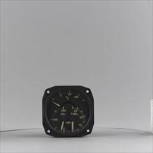Indicator, Combined, Oil Temperature / Oil Pressure / Fuel Pressure, AN5773-1A. Creator: Thomas A. Edison, Incorporated.