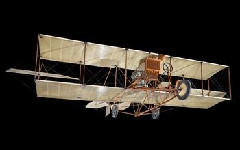 Curtiss D-III Headless Pusher, 1912. Creator: Curtiss Aeroplane and Motor Company.