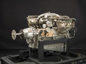 Thomas-Morse Model 8, V-8 Engine, 1917. Creators: Curtiss Aeroplane and Motor Company, Thomas-Morse Aircraft.