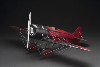 Model, Static, Travel Air Model R, ca. 1939. Creator: Unknown.
