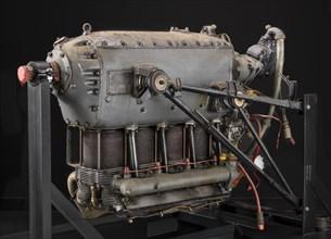 Hitachi Hatsukaze 11, Ha 11 Model 11, Inverted In-line 4 Engine, 1941. Creator: Hitachi Manufacturing Plant.