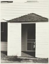 Door to Kitchen, Lake George, 1934. Creator: Alfred Stieglitz.