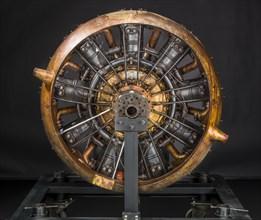 Salmson Z-9, Radial 9 Engine, Circa 1917-1918. Creator: Salmson.