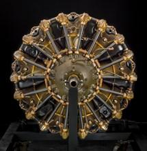 Jacobs (Pratt & Whitney Wasp Jr.) R-985-AN5, Radial 9 Engine, ca. 1940. Creator: Jacobs Aircraft Engine Company.