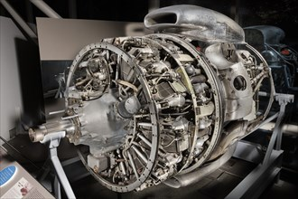 Wright Turbo-Cyclone 18R-3350-TC (972TC18DA2), 2-Row, Radial Engine, 1952. Creator: Wright Aeronautical.